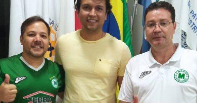 José Luiz Borges Júnior está de saída do Esporte Clube Mamoré